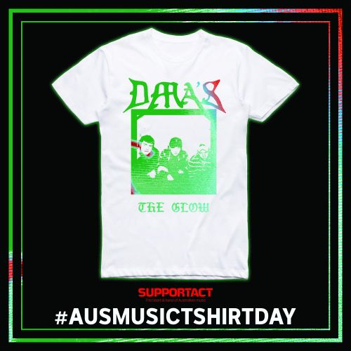 The Glow White T Shirt by DMA'S